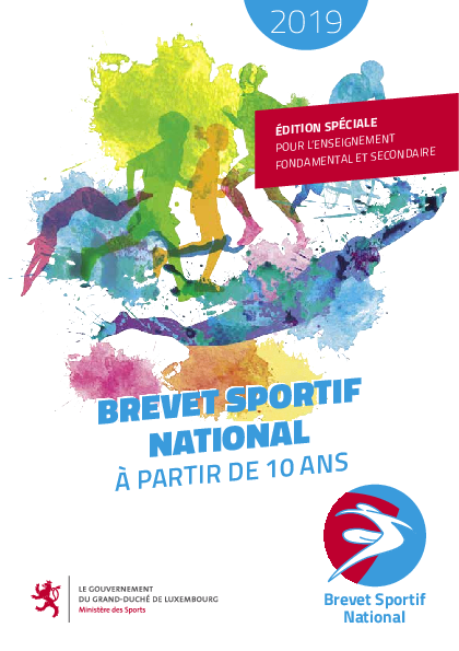 Brochure du Brevet sportif national - 2019